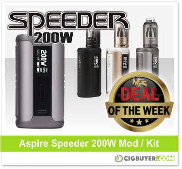 Aspire Speeder 200W Box Mod Deal
