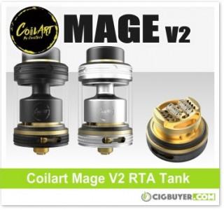 CoilArt Mage V2 RTA Tank – $26.99