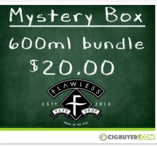 Flawless E-Juice Mystery Bundle – 600ml for ONLY $20!