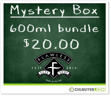 Flawless E-Juice Mystery Bundle