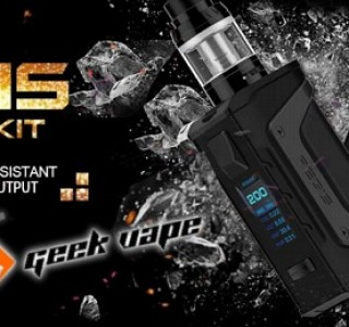 Geekvape Aegis Legend 200W Box Mod Preview