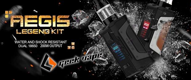 Geekvape Aegis Legend 200W Box Mod Preview