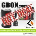 Geekvape GBOX 200W Squonk Mod – ONLY $34.99!