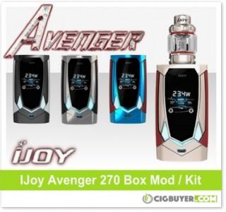 IJoy Avenger 270 Box Mod / Kit – From $39.99