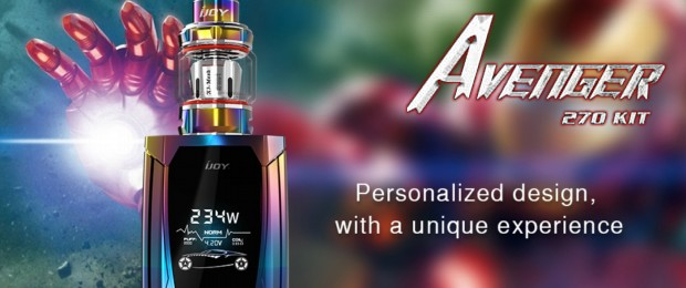 The iJoy Avenger 270 Box Mod Kit
