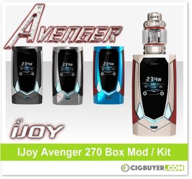 IJoy Avenger 270 Box Mod / Kit