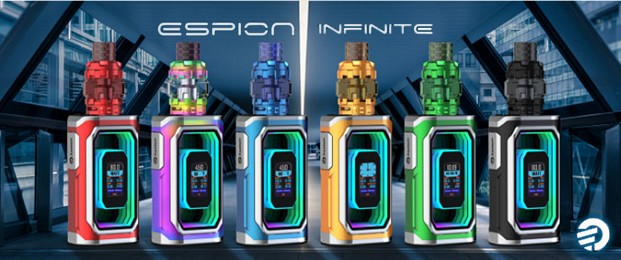 Joyetech Espion Infinite Box Mod Kit Preview
