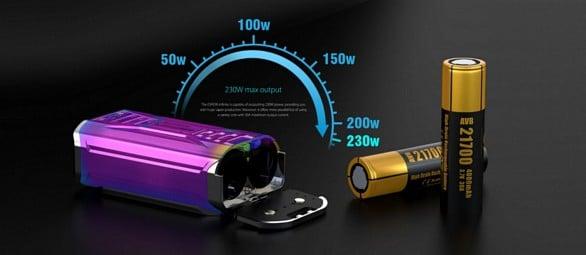 Joyetech Espion Infinite Mod Batteries