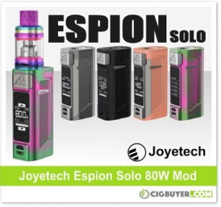 Joyetech Espion Solo 80W Box Mod / Kit – From $44.99