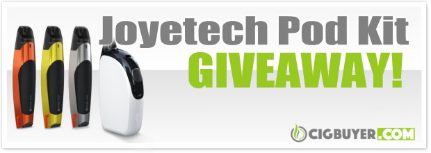 Joyetech Exceed Edge + Penguin Pod Kit Giveaway