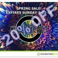 Nicoticket is BACK!!! 20% OFF Spring E-Liquid Sale
