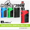 Uwell Ironfist 200W Box Mod / Kit – From $43.95