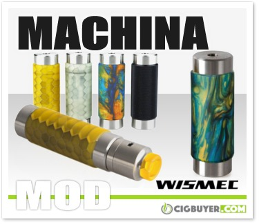Wismec Reuleaux RX Machina Mech Mod / Kit