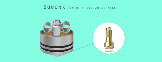 Wormhole RDA Squonk Pin