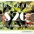 Abstrakt E-Liquid Weekly Deal – 2 x 120ml for $20