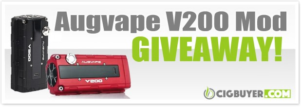 Augvape V200 Box Mod + Templar RDA Giveaway