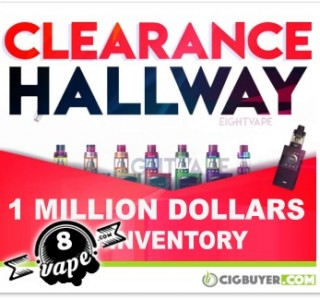 """Updated """"Million Dollar"""" Clearance Section at Eight Vape"""