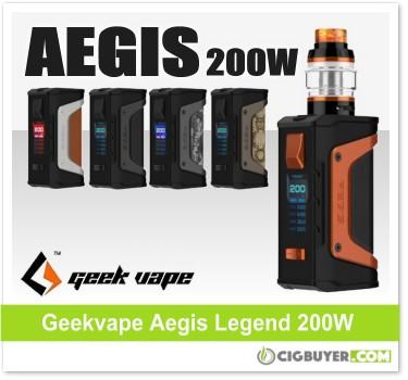 Geekvape Aegis Legend 200W Box Mod / Kit