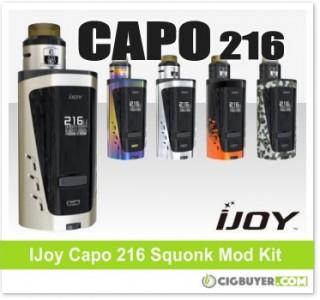IJoy Capo 216 Squonk Mod Kit – $49.43