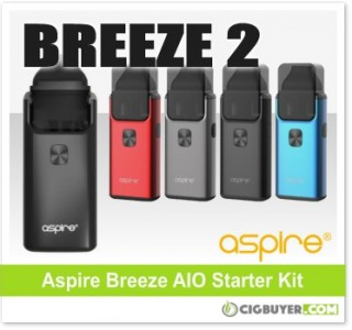 Aspire Breeze 2 AIO Starter Kit – $21.00