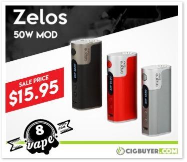 Aspire Zelos 50W Box Mod