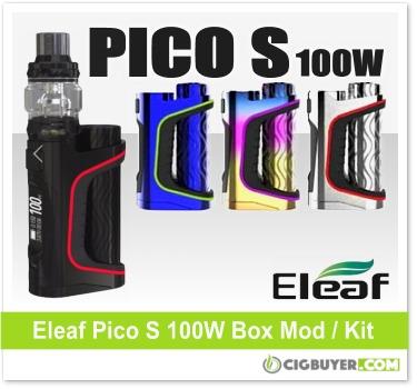 Eleaf Pico S 100W Box Mod Kit