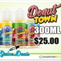 Donut Town E-Juice Bundle – 300ml for $25