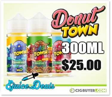 Donut Town E-Juice Bundle
