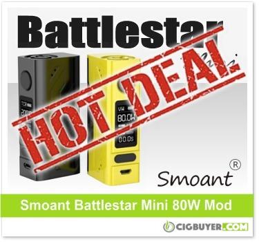 Smoant Battlestar Mini 80W Mod
